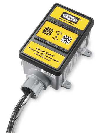 GFCI, Hard Wired, 3 PH 120/208V, 30A, Yellow