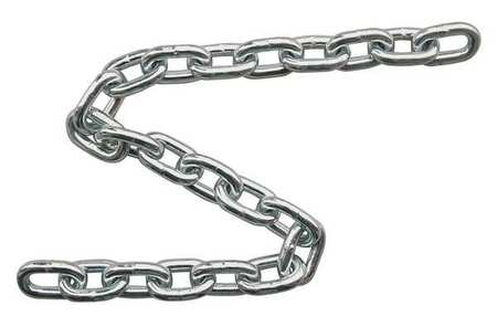 Chain, Grade 30, 3/16 Size, 20 ft., 800 lb.