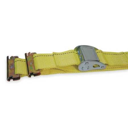Logistic Cam Buckle Strap, 12ftx2In, 800lb