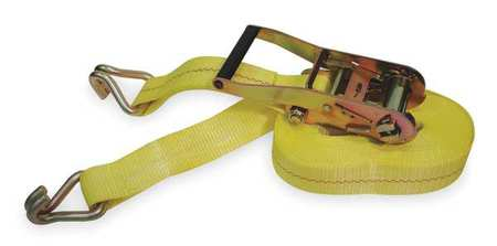 Tie-Down Strap, Ratchet, 27ft x 2In, 3300lb
