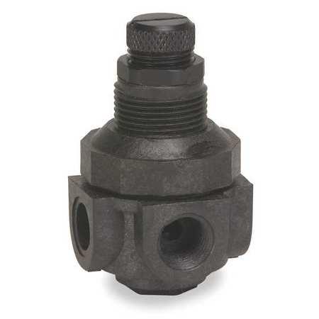 Pressure Regulator, 1/4 In, 0 to 125 psi