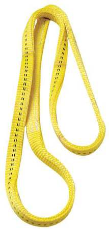 Web Sling, Endless Loop, L3Ft, 4000Lb, W1In