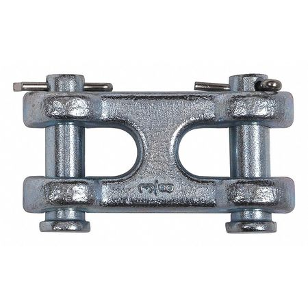 "Double Clevis Link, 5/16"" to 3/8"", 6600 lb"