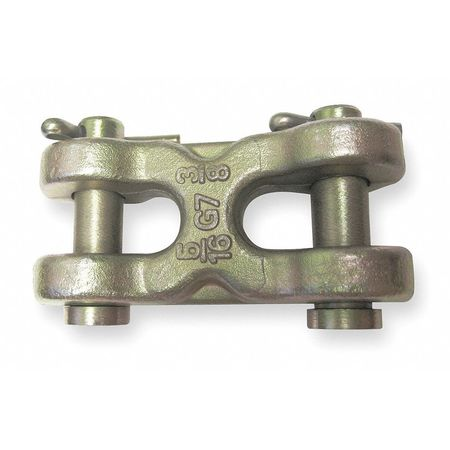 Double Clevis Link, 1/2 In, 11, 300 lb, GR70