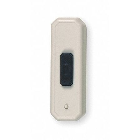 Doorbell Button Transmitter, L 3 5/16 In