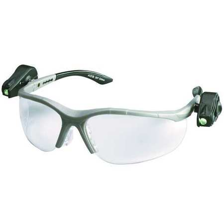 3M Clear Safety Glasses,  Anti-Fog,  Half-Frame