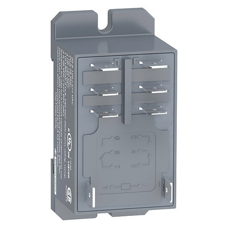 Enclosed Power Relay, 8 Pin, 230VAC, DPDT