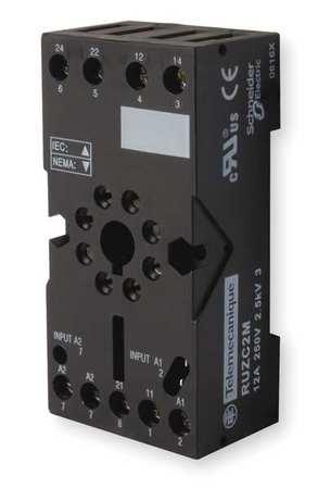 Rlay Scket, Fingr Safe/Elevator, 8 Pin, 10A