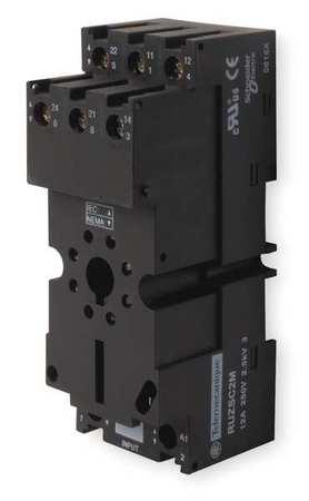 Rlay Scket, Fingr Safe/Elevator, 8 Pin, 12A