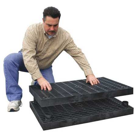 Work Platform Base Unit,  Stackable,  Plastic