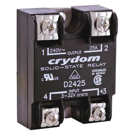Solid State Relay, 3 to 32VDC, 25A