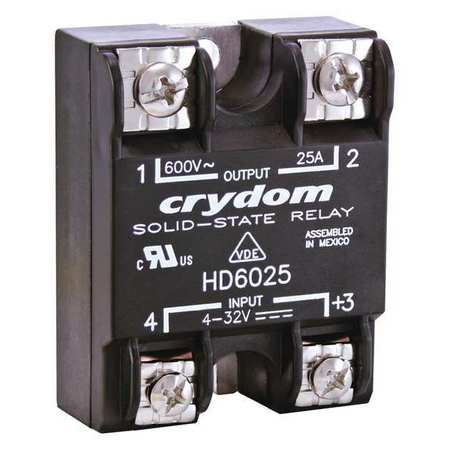 Solid State Relay, 4 to 32VDC, 12A