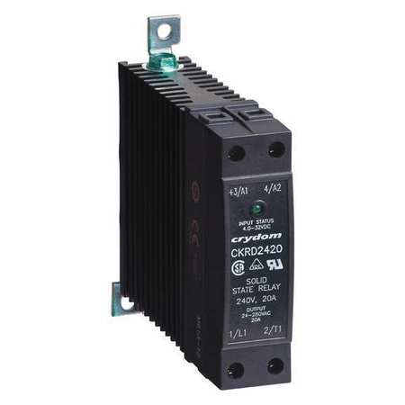 Solid State Relay, 4 to 32VDC, 20A