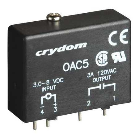 Input/Output Relay, 3.5A, Plug-In, Black