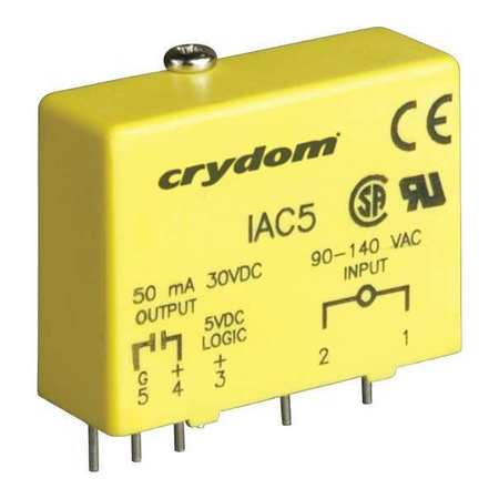 Input/Output Relay, 50mA, Plug-In, Yellow