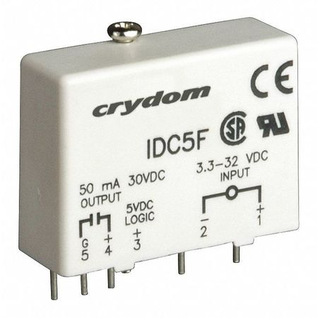 Input/Output Relay, 50mA, Plug-In, White