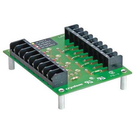Module Mounting Board, 4 Position