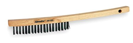 Scratch Brush, SS, 3 Rows