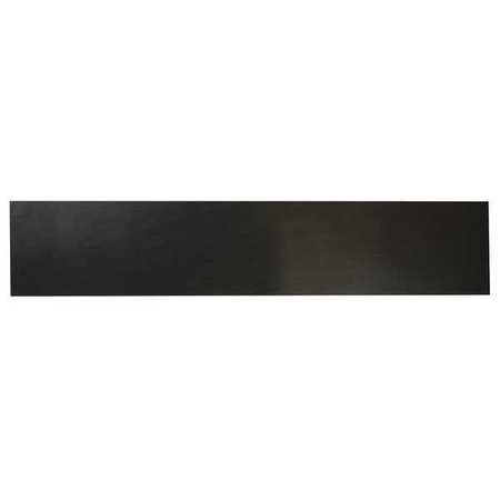 "3/16"" High Grade Buna-N Rubber Strip,  4""x36"",  Black,  40A"