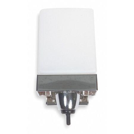 Liquid Soap Dispenser Silver Wall Mount