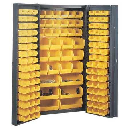 Bin Cabinet, 72 In. H, 38 In. W, 24 In. D