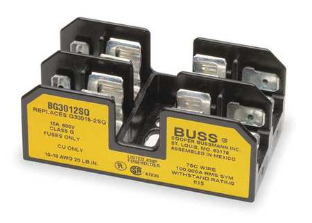 Fuse Block, Industrial, 15A, 2 Pole