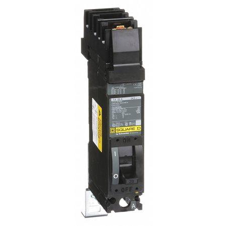 1P Standard Circuit Breaker 20A 277/480VAC