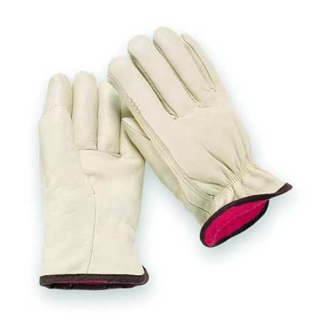 Leather Drivers Gloves, Cowhide, S, PR