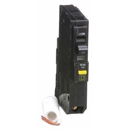 Qwik-Open 1P GFCI Plug In Circuit Breaker 20A 120VAC