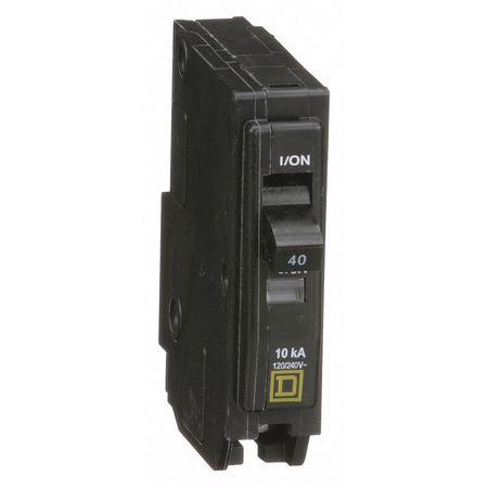 Qwik-Open 1P Standard Plug In Circuit Breaker 40A 120/240VAC