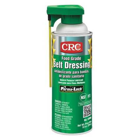 Food Grade Belt Dressing, Aerosol, 16 oz.