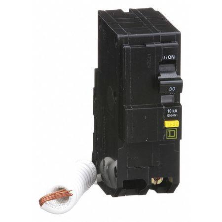 Qwik-Open 2P GFCI Plug In Circuit Breaker 30A 120/240VAC