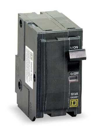 2-Pole QOR Plug In Circuit Breakers