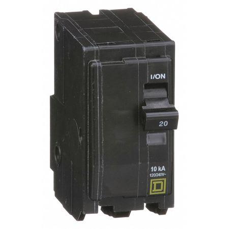 2P Standard Plug In Circuit Breaker 20A 120/240VAC