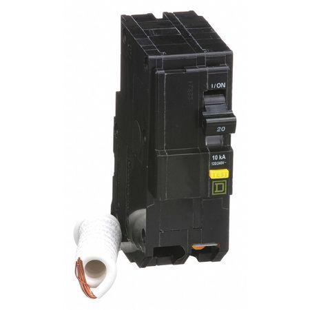 Qwik-Open 2P GFCI Plug In Circuit Breaker 20A 120/240VAC