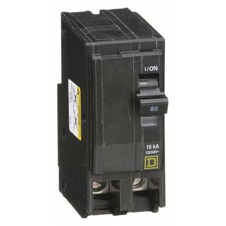 Qwik-Open 2P Standard Plug In Circuit Breaker 80A 120/240VAC