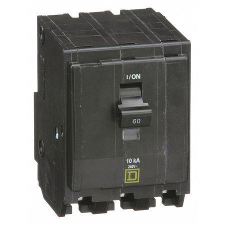 Qwik-Open 3P Standard Plug In Circuit Breaker 60A 240VAC