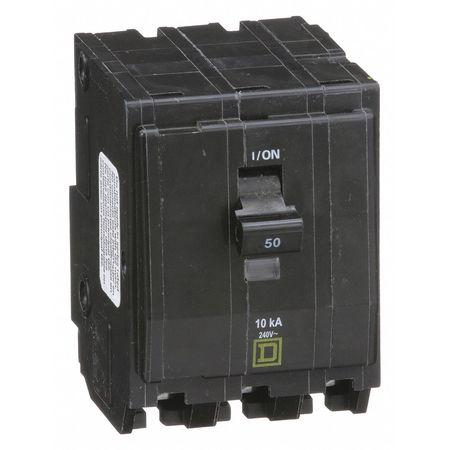 Qwik-Open 3P Standard Plug In Circuit Breaker 50A 240VAC