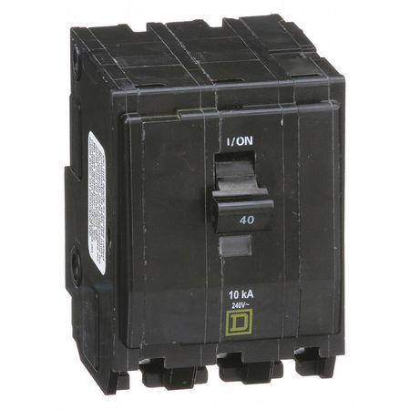 Qwik-Open 3P Standard Plug In Circuit Breaker 40A 240VAC