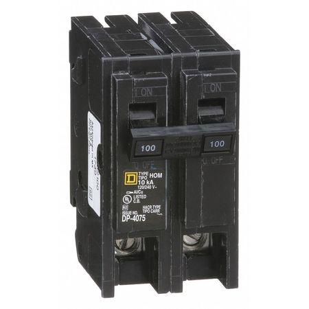 2P Standard Plug In Circuit Breaker 100A 120/240VAC