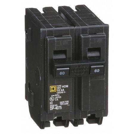 2P Standard Plug In Circuit Breaker 60A 120/240VAC