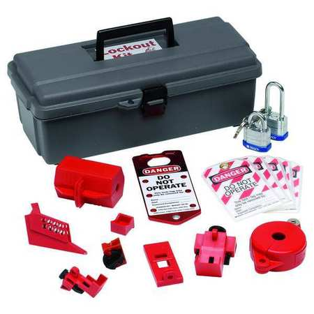 Portable Lockout Kit, Electrical/Valve