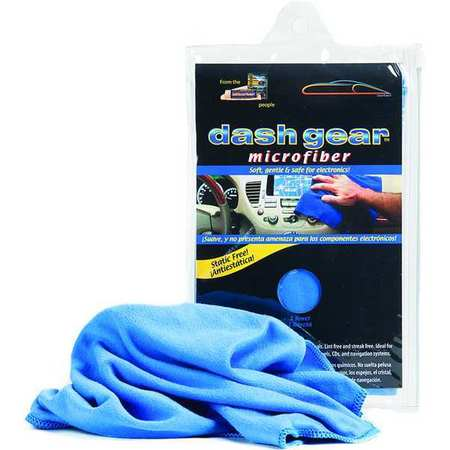 Brushed Towel, Blue, Microfiber