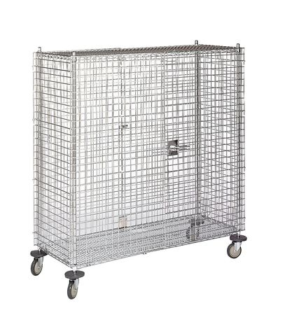 Wire Security Cart, 900 lb., 60 In. L
