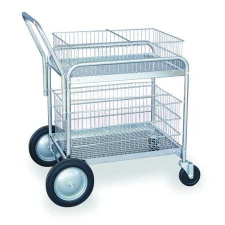 Mail Cart, 27 In. L x 19 In. W x 38 In. H