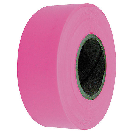 Flagging Tape, Fluorescent Pink, 150 ft