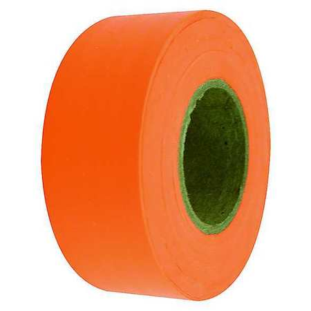 Flagging Tape, Fluorescent Orange, 150 ft