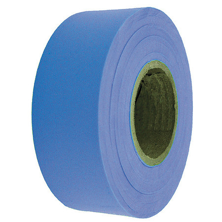 Flagging Tape, Blue, 300 ft x 1-3/16 In