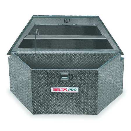 Trailer Tongue Box, 48 in. W, 18-1/2 in. D