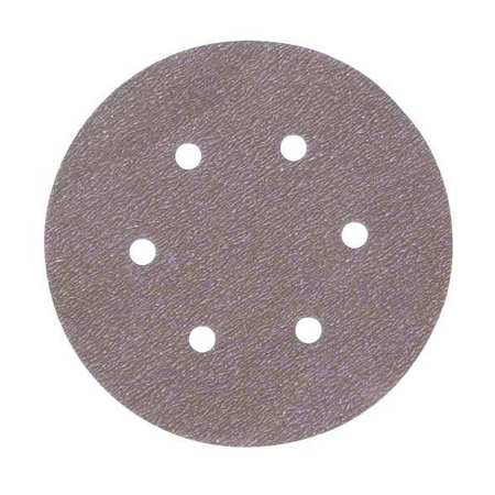Disc, Sanding, 6 Hole, 6In, P120G, PK100